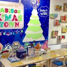BABIBOO Christmas Post Card Activity (At Hamleys)