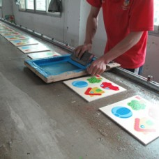 Production process (Silk Screen)