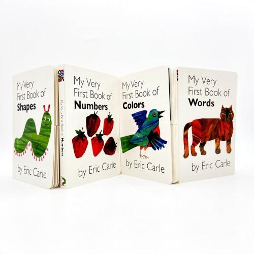 Eric Carle Book - My First Book Set A